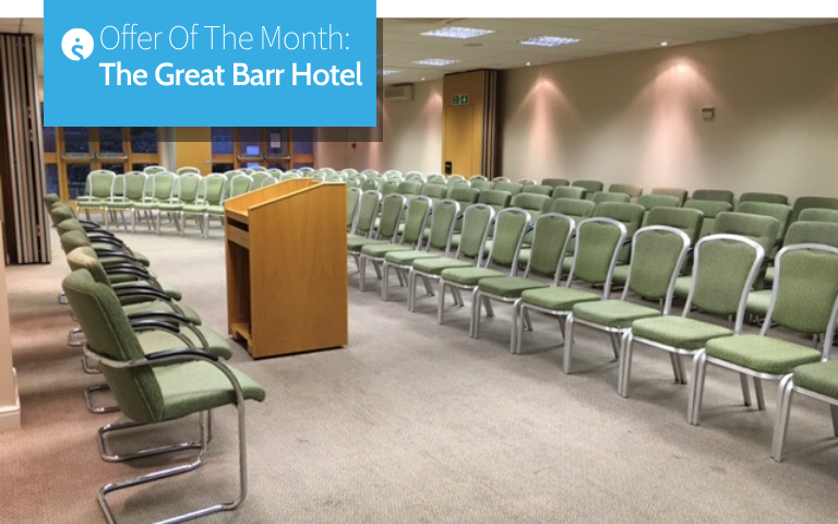 Offer of the month The Great Barr Hotel