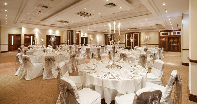 Hilton Sheffield wedding layout