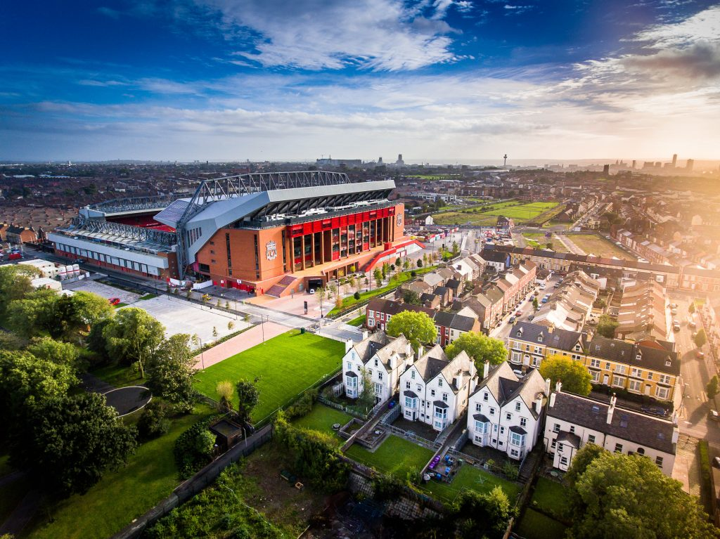 Liverpool Football Club Outside to book in 2020