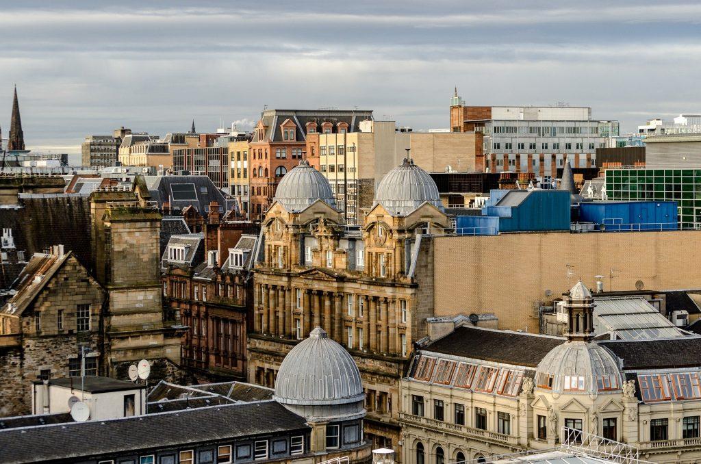 Glasgow New Year event location hotspot