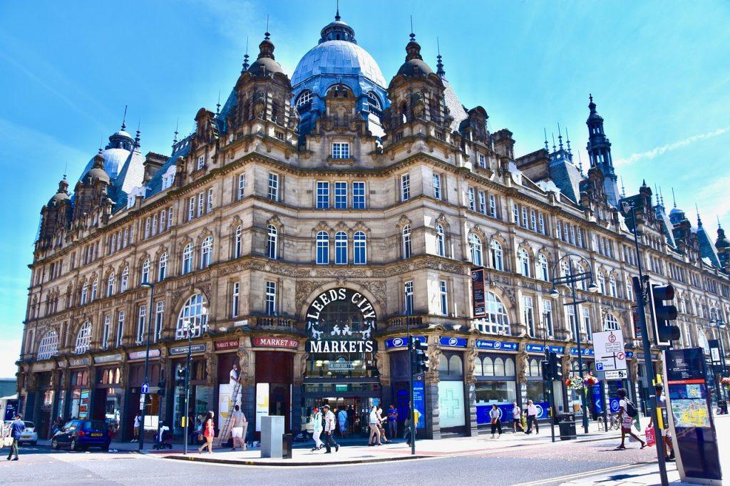 Leeds  New Year event location hotspot