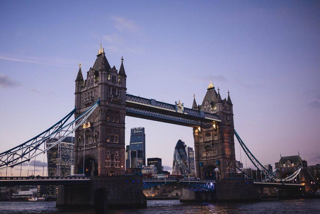 London  New Year event location hotspot