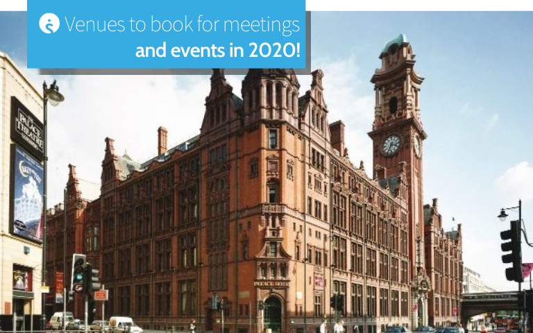 Venues to book for meetings and events in 2020