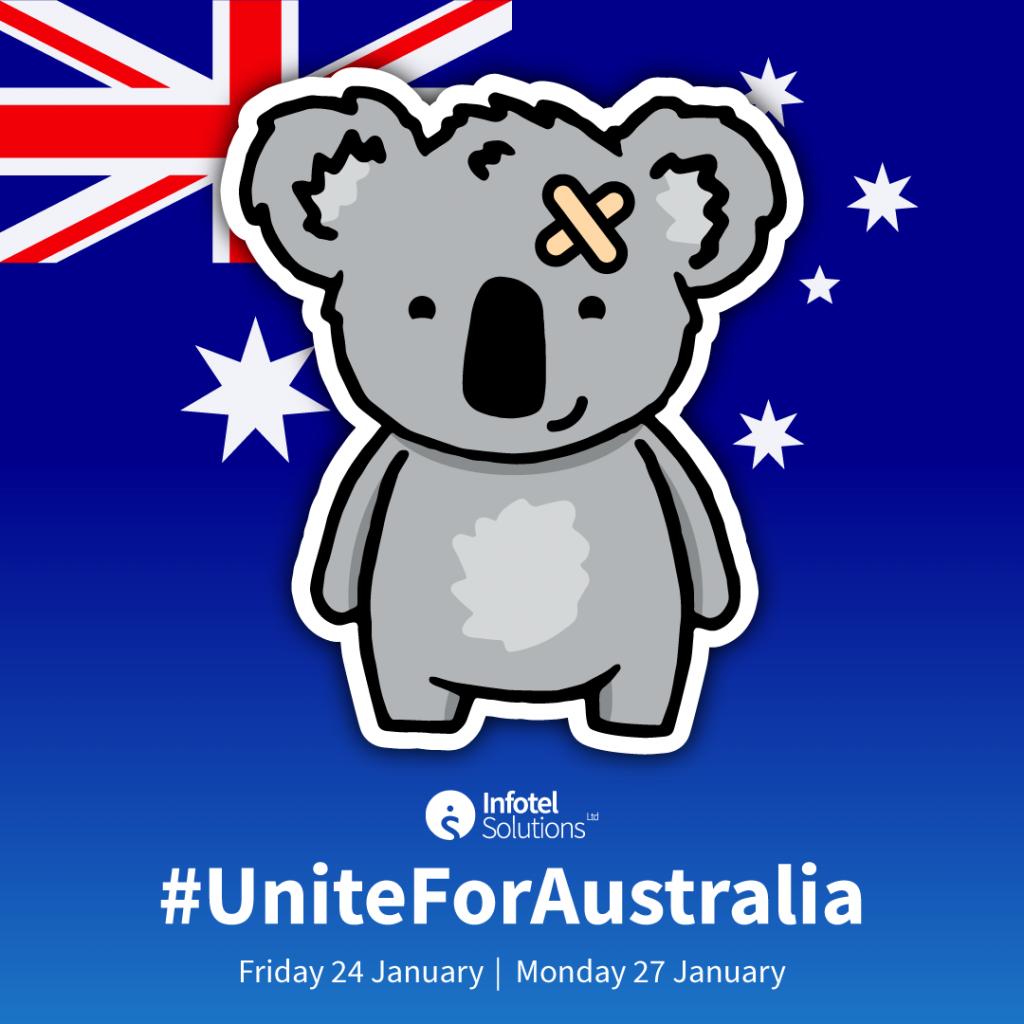 #UniteForAustralia bushfires