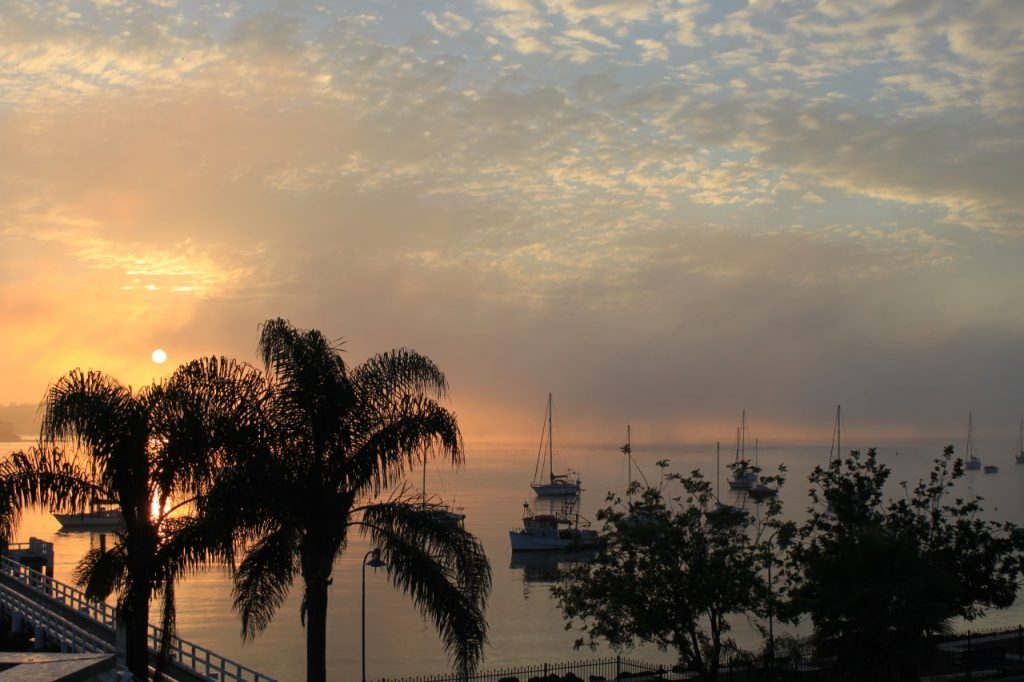 UniteForAustralia Australian Sunset before Australian bushfires