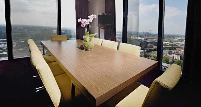 Hilton Manchester Deansgate meeting room